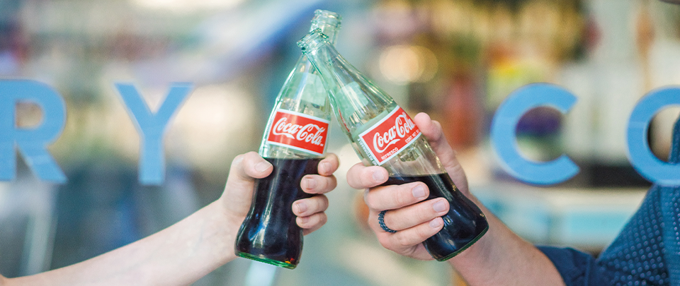 Coca-Cola Experiments with Paper Bottles