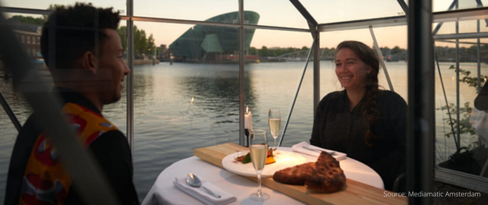 Dinner With a View And a 1 Metre Rule