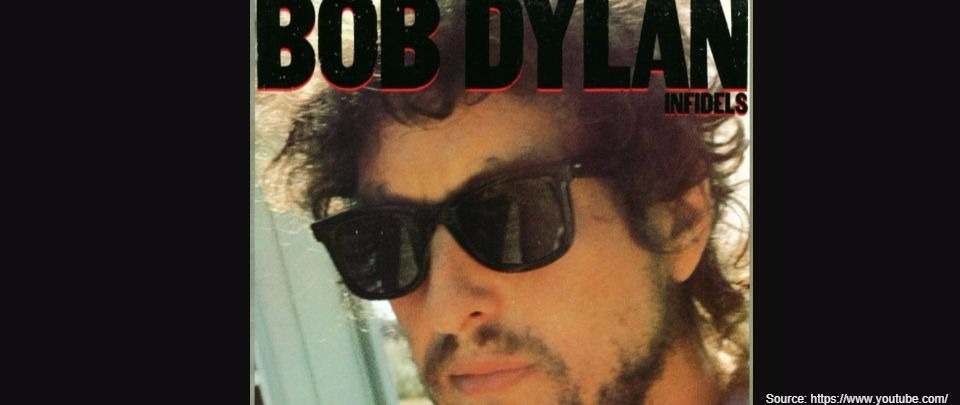 (Untitled) #103 feat. Infidels by Bob Dylan