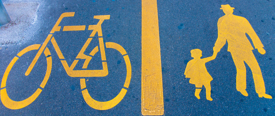 Making Way For Cycling And Pedestrian Lanes