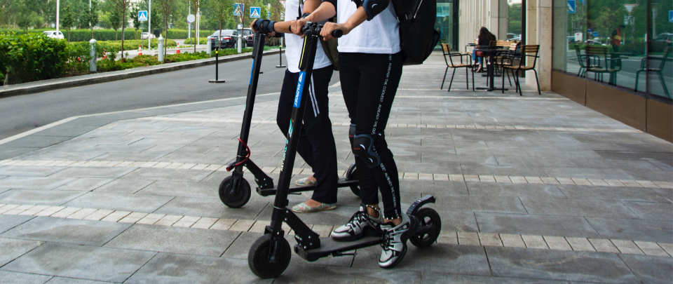 E-Scooters Banned From Roads
