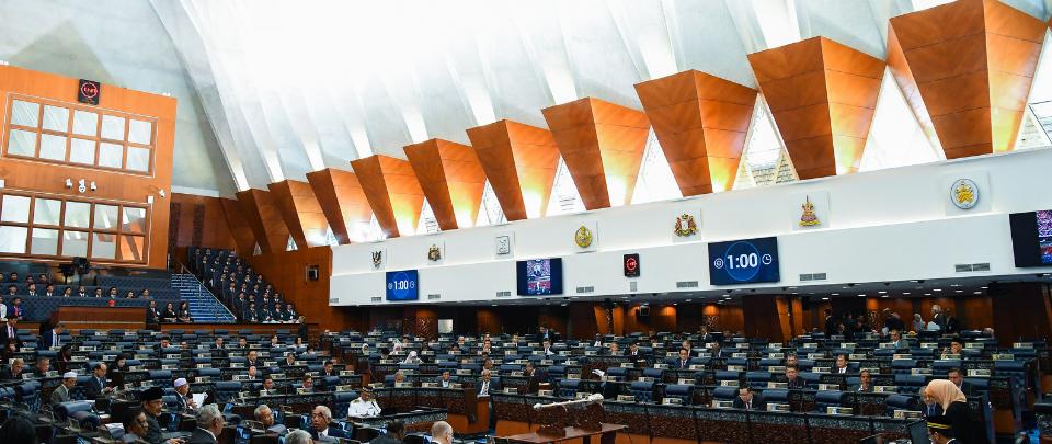 Popek Popek Parlimen: MPs Under Quarantine Attend Parliament