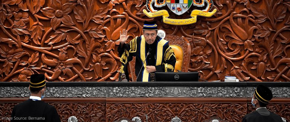 Popek Popek Parlimen: Tan Sri Mohamad Ariff Removed As Speaker