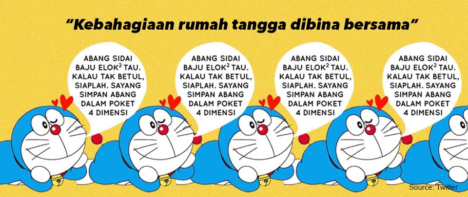 For Domestic Bliss, Speak Like Doraemon