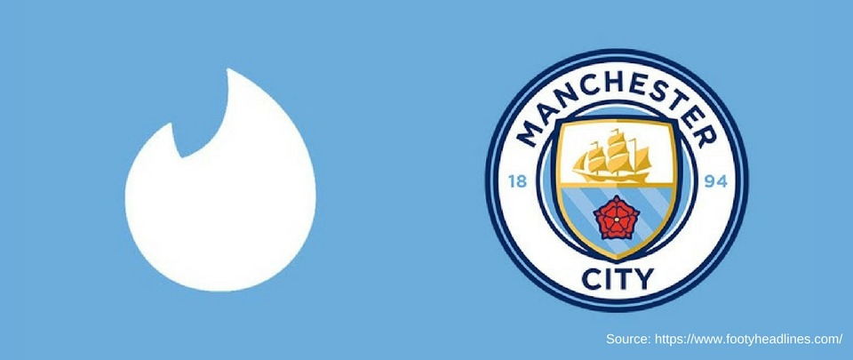It's a Match! For Tinder and Manchester City