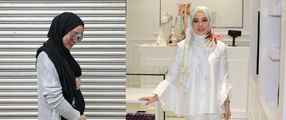 Vivy Yusof Gets A Pregnant Pause on Twitterverse
