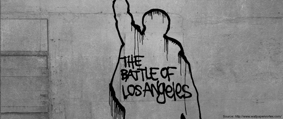 Untitled #94 feat. The Battle of Los Angeles, by Rage Against the Machine