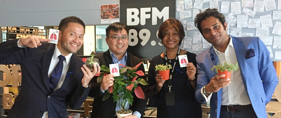 Doctor in the House: Supporting Lung Cancer Patients