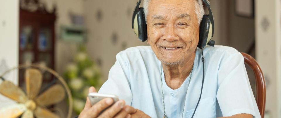 Healthy Ageing: Helping Dementia Patients Through Music