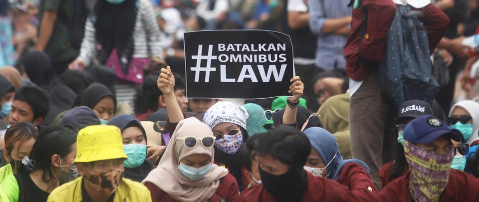 Indonesia: Why Are Thousands Protesting the Omnibus Law?