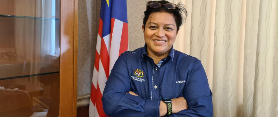 Parliament's First Woman Deputy Speaker Speaks Her Mind