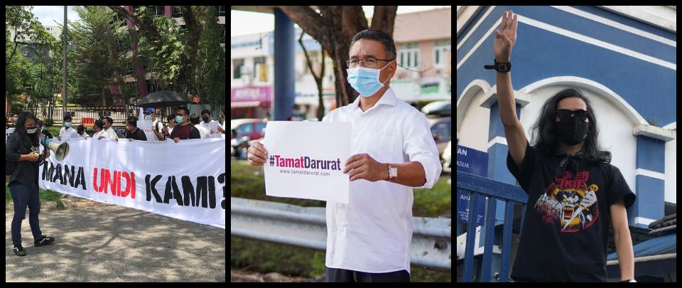 Law & Behold #36: Activists arrested; UNDI 18; Tamat Darurat