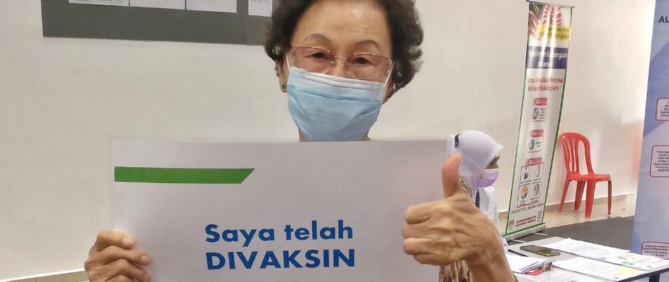 COVID-19 Vaccine Stories: Mdm Ham Swee Kim