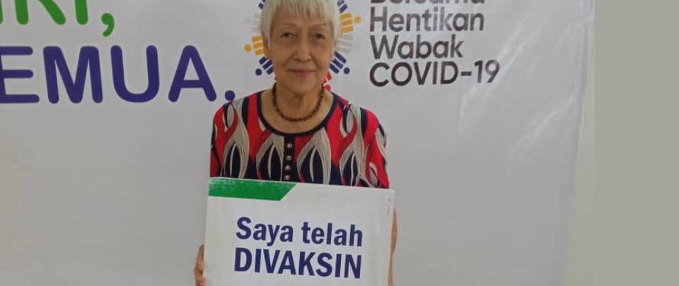COVID-19 Vaccine Stories: Judy Liu, 83