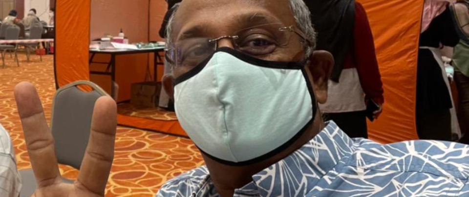 COVID-19 Vaccine Stories: Kanesan, 61