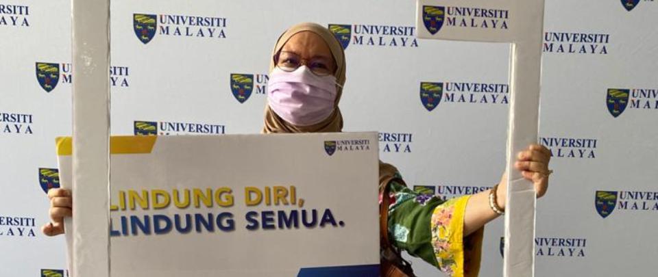 COVID-19 Vaccine Stories: Fatimah Abu Bakar, 66