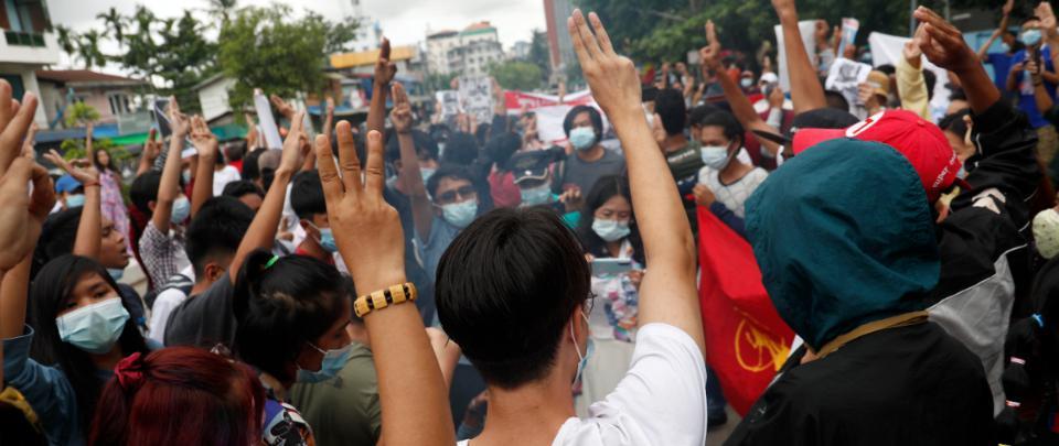 Six Months into the 2021 Myanmar coup d'état - Death, Destruction, Disease