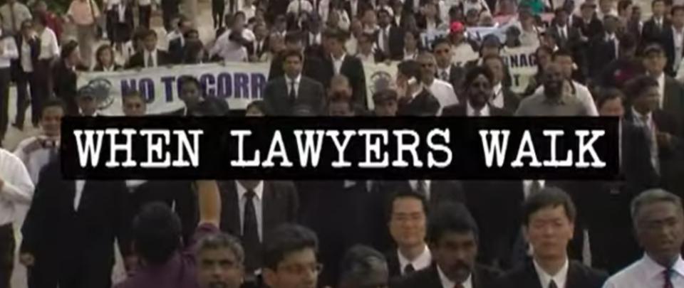 Stay Home & Watch: When Lawyers Walk
