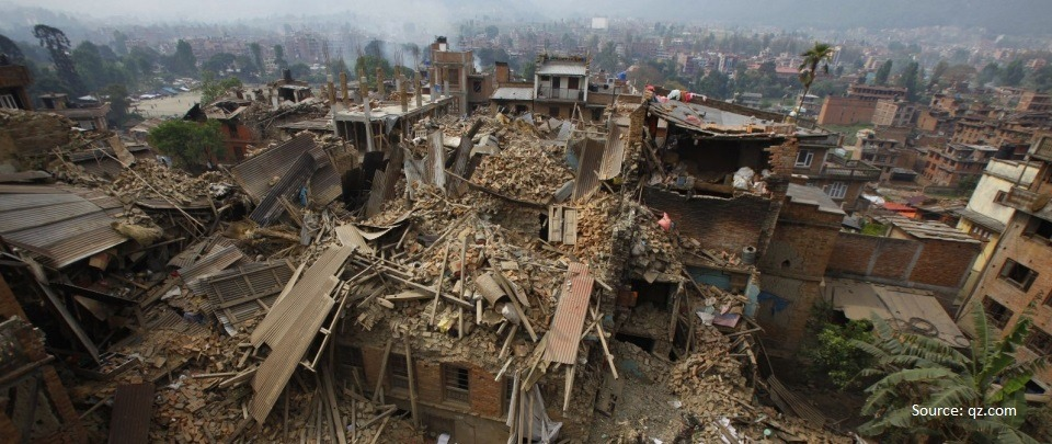 Nepal Earthquakes - One Man's Experience