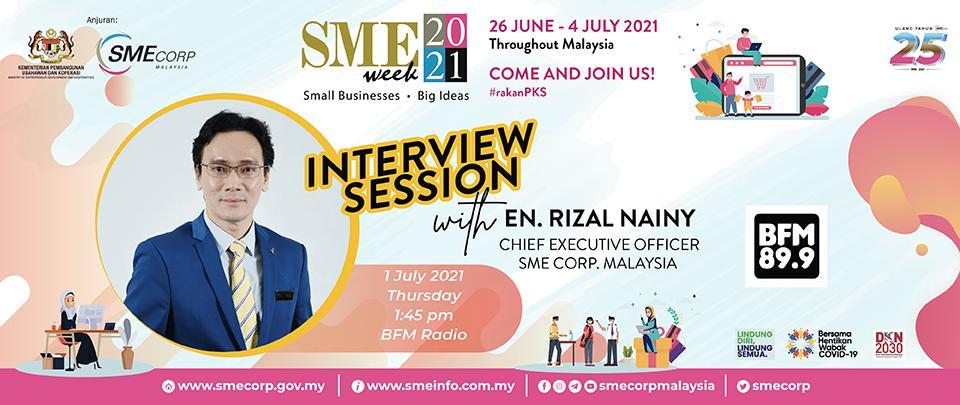 SME Corp. Malaysia's National SME Week 2021 & MyAssist MSME Portal