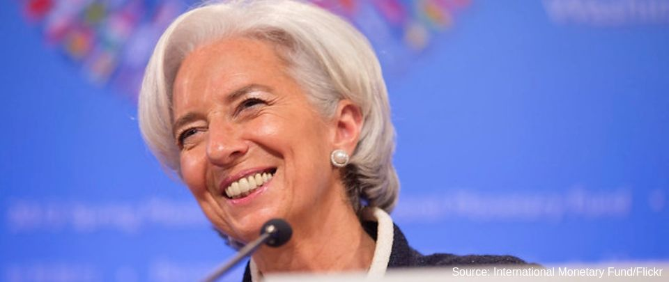 Christine Lagarde May Well Be Her Own Woman