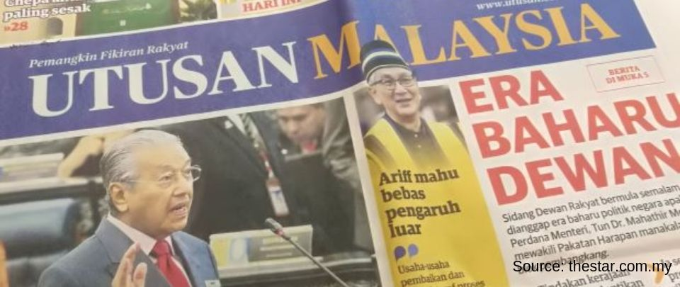 After Eight Decades, the End of an Era for Utusan