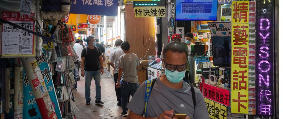 Hong Kong Mulls Second Lockdown As Virus Makes Comeback
