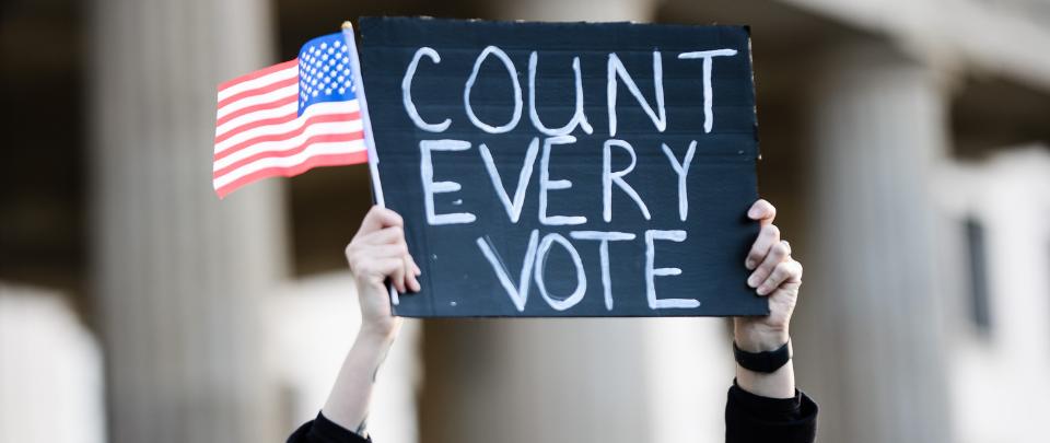 Biden - Large Gains In Popular Vote, Electoral College Margin Still Thin?