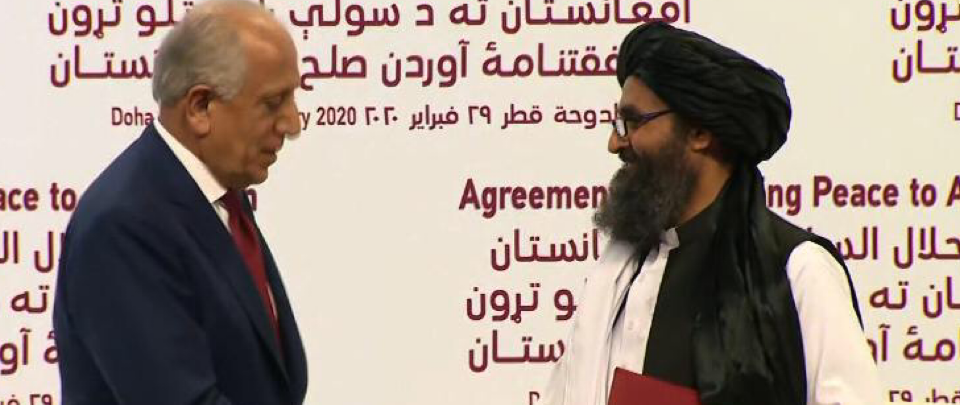 US-Taliban Deal - History in the Making?