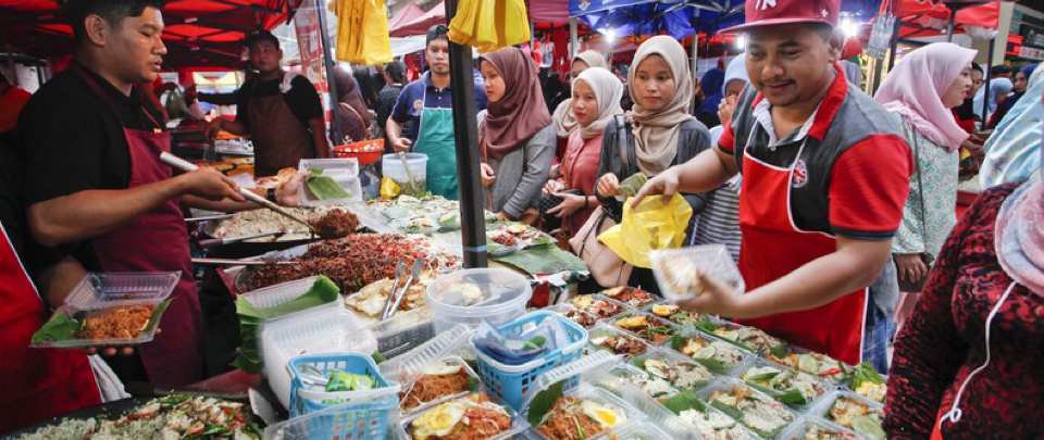 Ramadhan Bazaars, Not a Tradition This Year