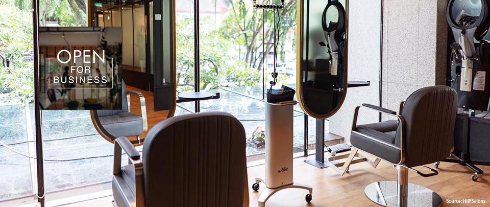 Voice of SMEs: Empowering Hairdressers with a Co-Sharing Salon