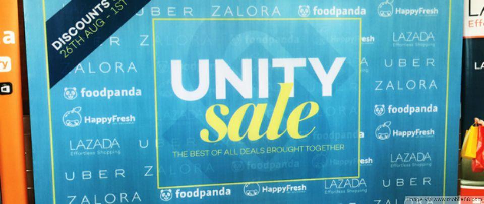 The Unity Sale
