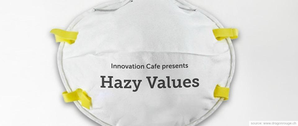 Innovation Cafe: Hazy Values