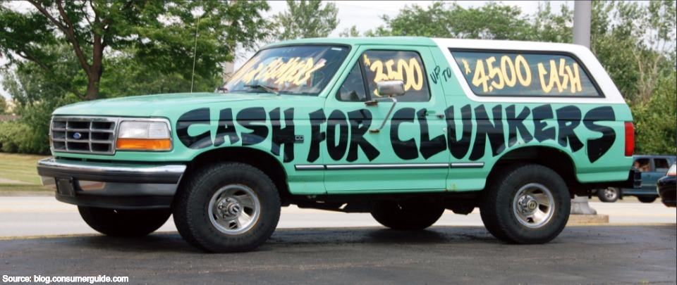 Cash For Clunkers?