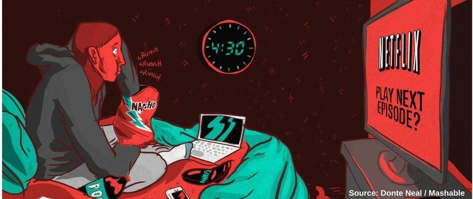 Binging Your Way to Sleep Deprivation