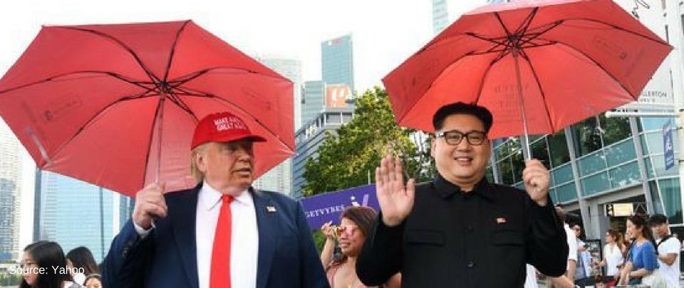 Kimpersonator Grabs Attention Ahead of US-North Korea Summit