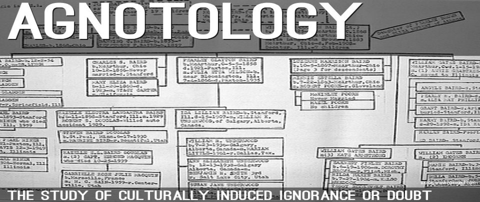 What is Agnotology