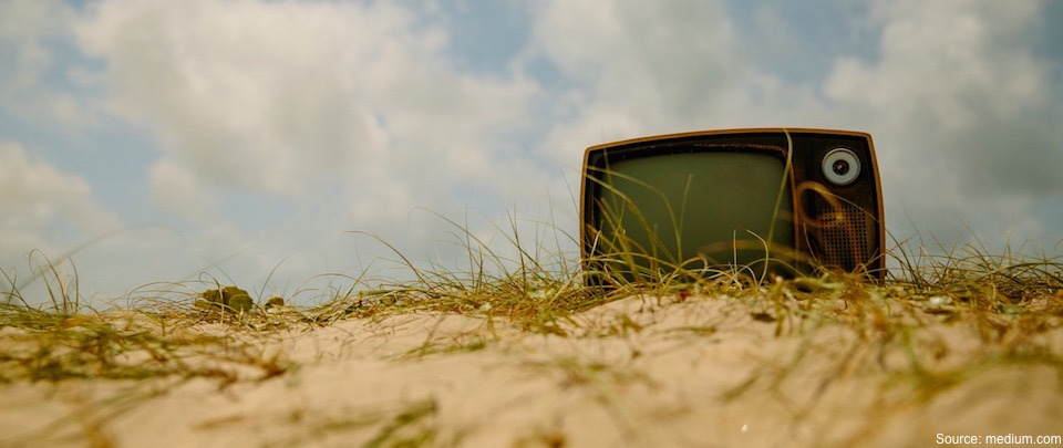 The Death of TV and The Aversion To Stock Markets