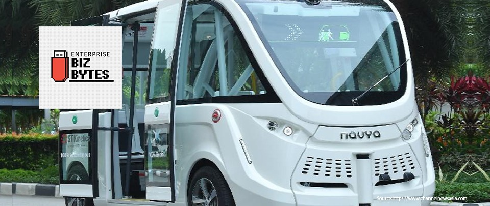 Singapore's New Driverless Buses