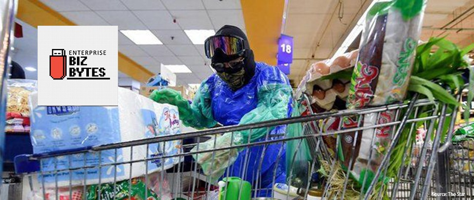Hilarious ways Malaysian shoppers are protecting themselves against coronavirus