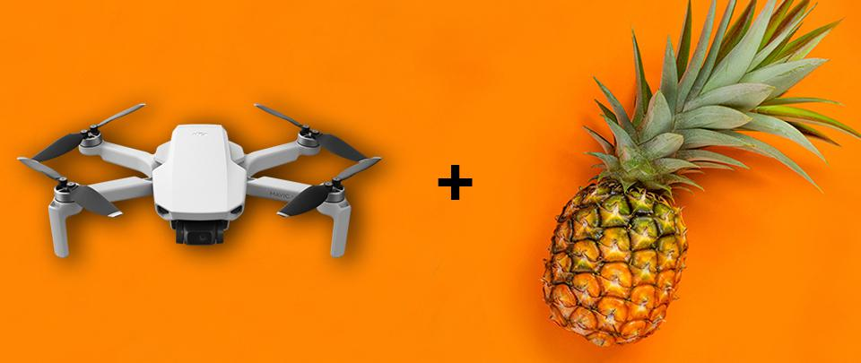Can Drones Be Made Of Pineapple? Yes!