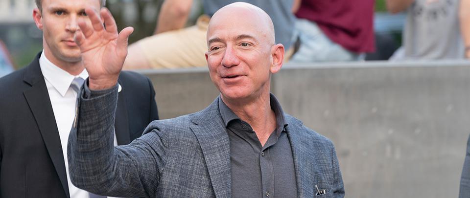 Bezos Steps Down As Amazon CEO