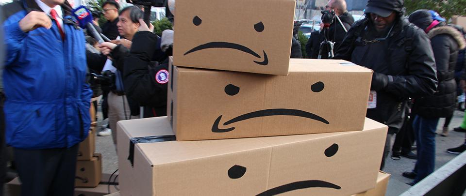 Amazon Warehouse Workers Begin Vote to Unionize