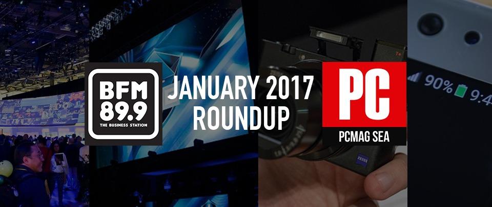 PC Mag Round Up - Jan 2017