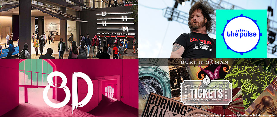 By The Way: Hip Hop Museum, Infected Musicians, 8D Audio and Burning Man