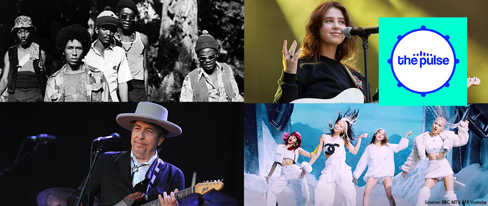 By The Way: Clairo's Concert Plan, Blackpink's New Music Video, The Wailers' Statue and Bob Dylan's New Album