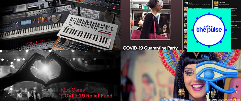 By The Way: Moog and Korg's Gift, Quarantunes, MusiCares, Dark Horse Update
