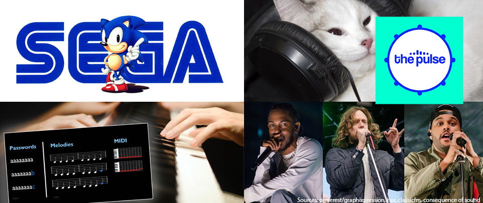 By The Way: SEGA Expanding to Music, Feline Jams, Generating Every Possible Music, Yeasayer Suing Black Panther OST