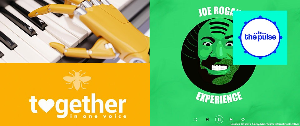 By The Way: Spotify x Joe Rogan, Together In One Voice and Soundtrack Generator