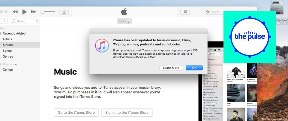 Farewell iTunes